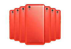 Red phones Royalty Free Stock Images