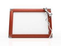 Red photo frame Stock Photo