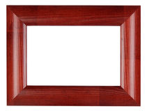Red photo frame Royalty Free Stock Photography