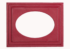 Red photo frame Stock Photography