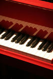 Red piano Royalty Free Stock Photography