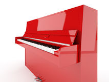 Red piano Royalty Free Stock Photos