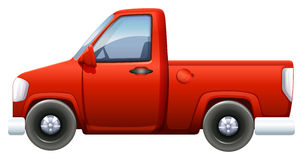 A red pickup Stock Photography