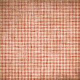 Red picnic fabric. With straight lines Royalty Free Stock Images