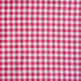 Red picnic tablecloth background. Royalty Free Stock Photography