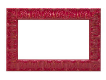 Red picture frame Royalty Free Stock Photos