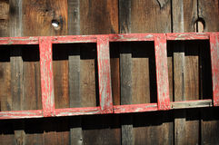 Red Picture Old Fashion Picture Frame Royalty Free Stock Images
