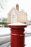 Red Pillar Box Stock Image