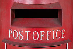 Red Pillar Box Royalty Free Stock Image