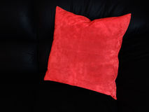 Red pillow Stock Photos