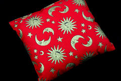 Red pillow Stock Photography