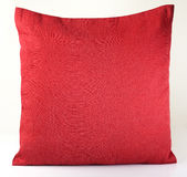 Red  Pillow on White Background Stock Image