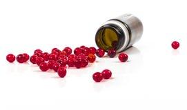 Red pills Stock Image