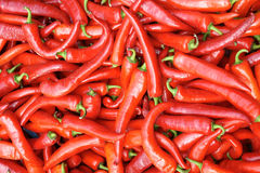Red pimiento. The background of red pimiento Stock Photo