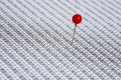 Red Pin Stock Images