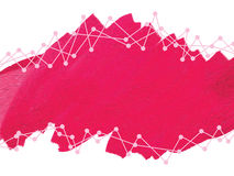 Red pink background Stock Image