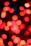 Red and Pink Bokeh Royalty Free Stock Images