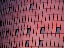 Red, Pink, Building, Wall Stock Photo