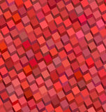 Red pink cube pattern backdrop Stock Photography