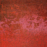 Red pink 3d abstract grunge cracked wall Royalty Free Stock Photos