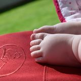 Red, Pink, Foot, Hand Stock Photography