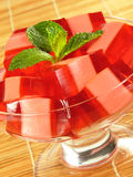 Red & Pink Gelatin Stock Photos