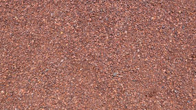 Red and pink gravel floor background texture Royalty Free Stock Photos