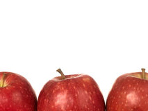 Red Pink Lady Apples Royalty Free Stock Photos