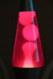 Red and Pink Lava Lamp Stock Photos