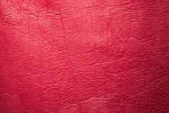 Red pink leather texture or background Stock Images