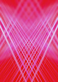 Red and pink light trails background Stock Images