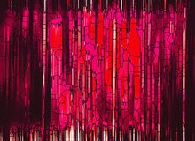 Red, Pink, Purple, Modern Art stock photos