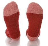 Red and pink socks Stock Image