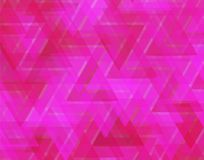 Red and pink triangles in abstract textured background. Abstract colorful background in pink and red. geometric background of triangles creating a cool texture Royalty Free Stock Photo