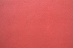 Red pink wall background from cement Stock Photography