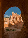 Red pinnacles (hoodoos) of Bryce Canyon, Utah, USA Stock Image