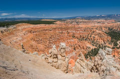 Red pinnacles (hoodoos) of Bryce Canyon, Utah, USA Stock Photos