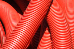 Red pipe Stock Image