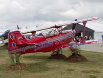 Red Pitts S-2C Plane Stock Photography