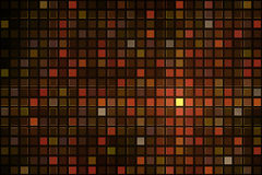 Red pixel mosaic background Royalty Free Stock Photography