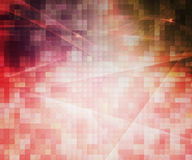 Red Pixels Abstract Background. Image vector illustration