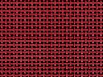 red plástica roja 3D Fotografía de archivo