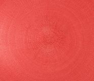 Red placemat Stock Photography