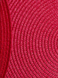 Red placemats Royalty Free Stock Photography
