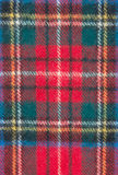 Red plaid material royalty free stock images