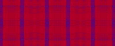 Red Plaid. Seamless Buffalo Design. English