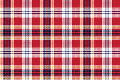 Red plaid seamless fabric texture royalty free illustration