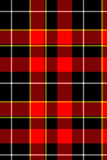 Red plaid tartan Stock Images