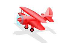 Red plane Stock Photos