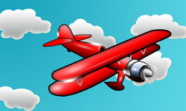 Red Plane Royalty Free Stock Photos